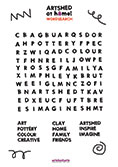 Artshed at home - Word Search